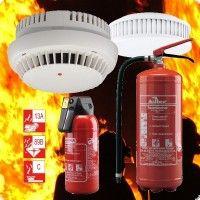 Brandschutz und Löschmittel
