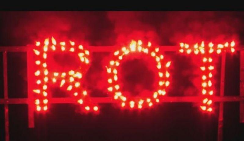 Figurenlichter ROT T1 NC Raucharm 60 sec. 800 Stück