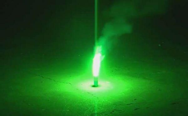 Bengaltopf Grün XXL T1 - 60 sec. Brenndauer