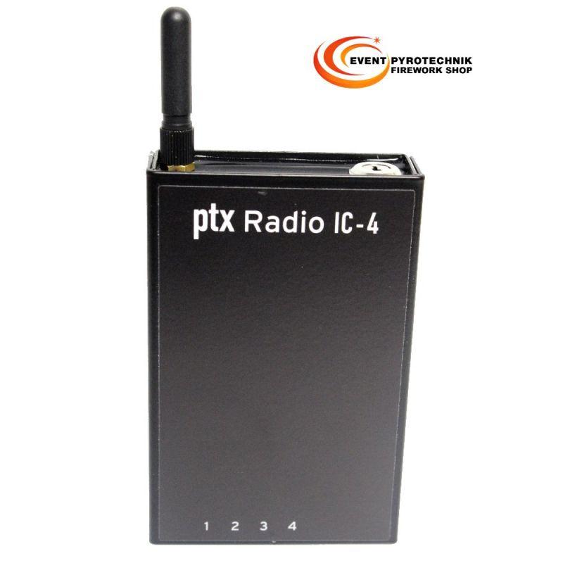 Pyrotronix ptx IC4 - 4 Kanal Taschenempfänger