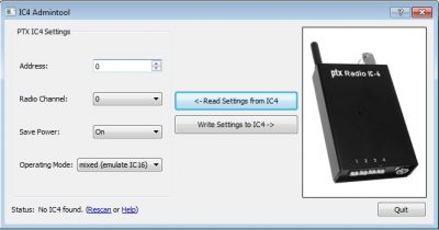 Pyrotronix ptx IC4 Programmier Software - Download Artikel