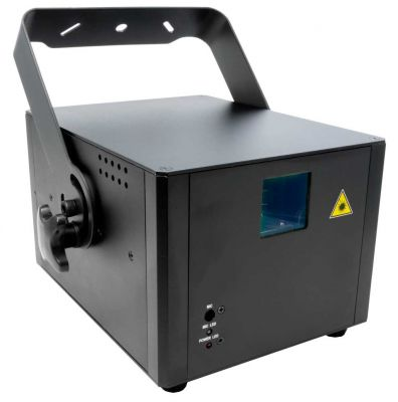 Laserworld PRO-400G Grüner ILDA DMX Showlaser VORFÜHRGERÄT