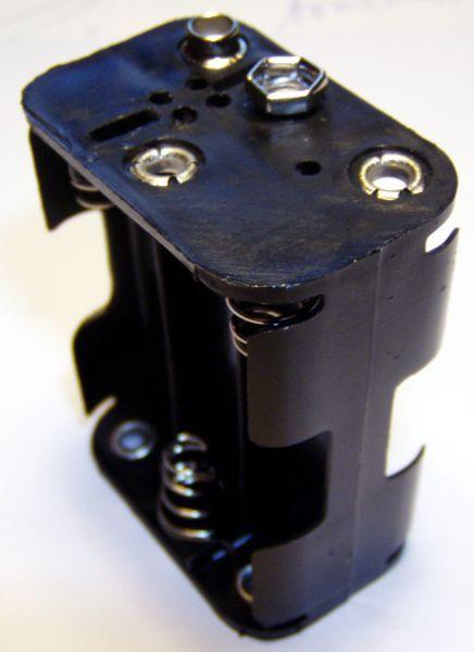 Batteriehalter für 6 Stück AA Batterien