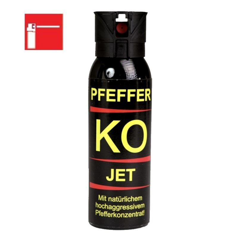 Tier Abwehrspray Ballistol Pfefferspray KO JET 100 ml
