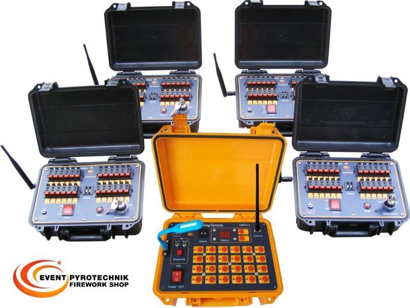 Funkzündanlage 96 Kanäle im Koffer DBR02-X24-96