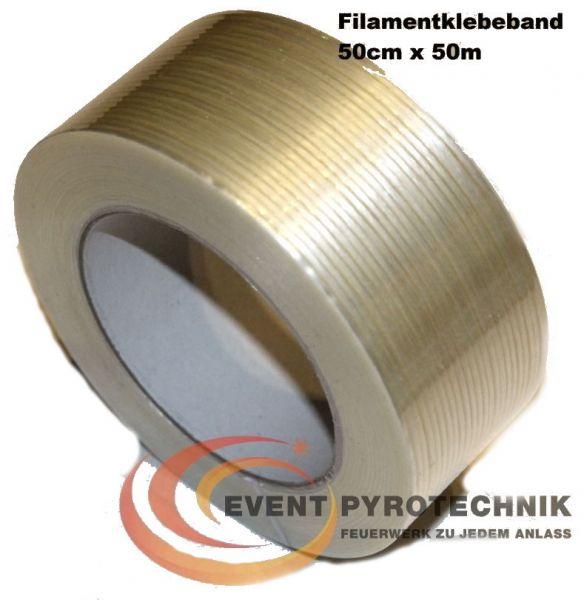 Filamentklebeband 50 mm x 50 m