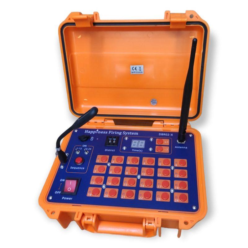 Funkzündanlagen Sender 2400 Kanäle DBR02-X im Koffer