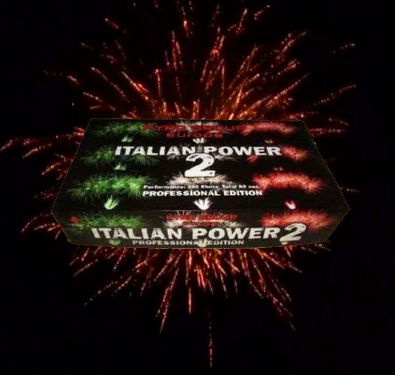 Italian Power 2 Verbundfeuerwerk ca. 85 sec.