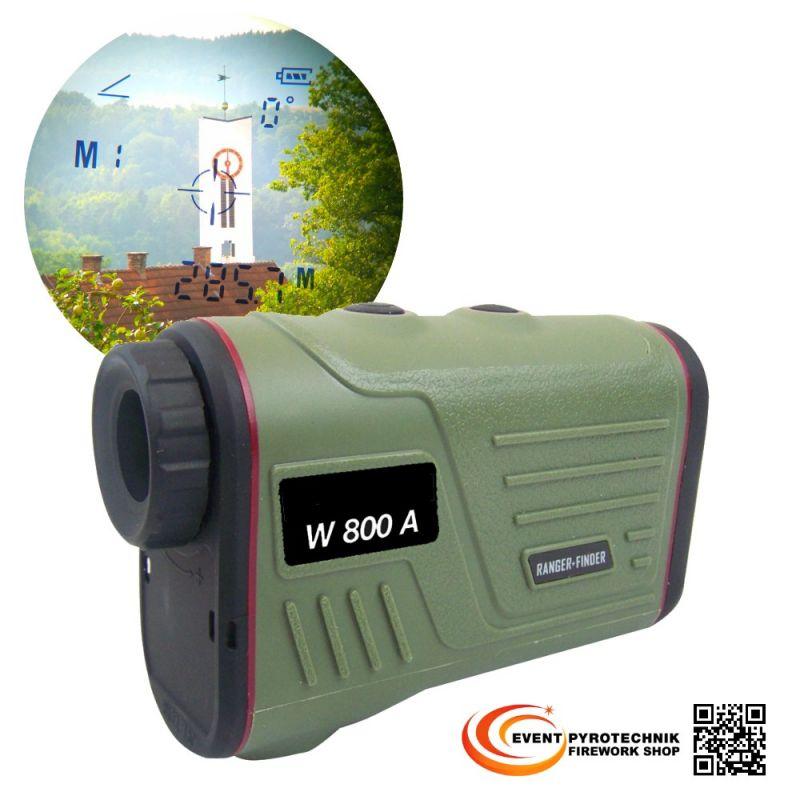 Laser Entfernungsmesser bis 899 m + Geschwindigkeit + Winkelmessung
