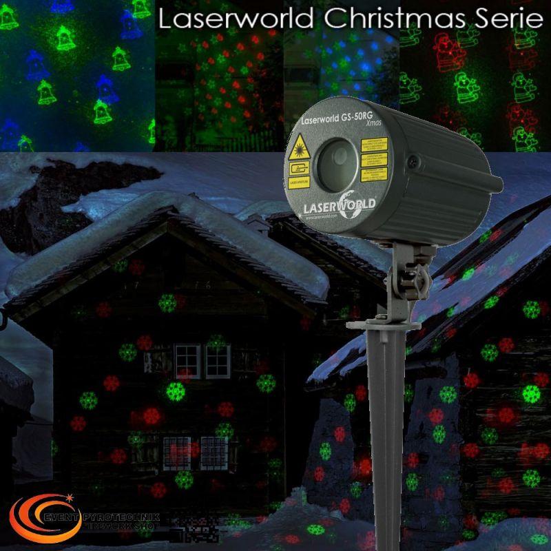 Laserworld GS-50RG Xmas Gartenlaser