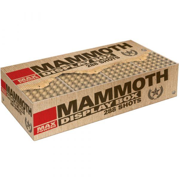 Lesli Mammoth 288 Schuss Compound Feuerwerk 155 Sekunden