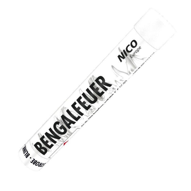 Nico Bengalfeuer Weiß Strobe - 40 Sek. - F1
