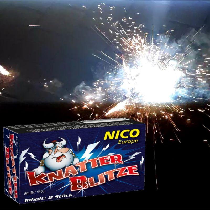 Nico Knatterblitze 8 Stück Schachtel - F1