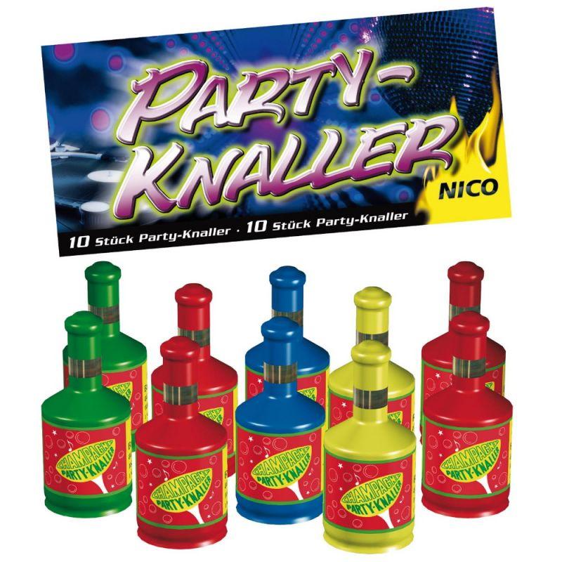 Nico Party-Knaller Knallflaschen 10er Beutel - F1