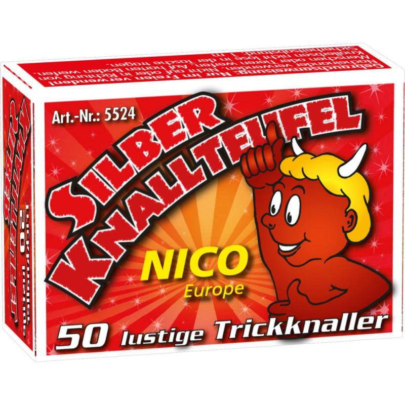 Nico Silber Knallteufel 50er Schachtel - F1