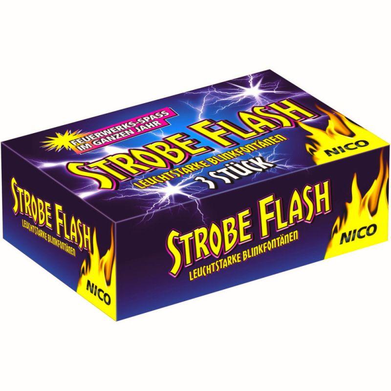 Nico Strobe Flash 3 Stück Schachtel - F1
