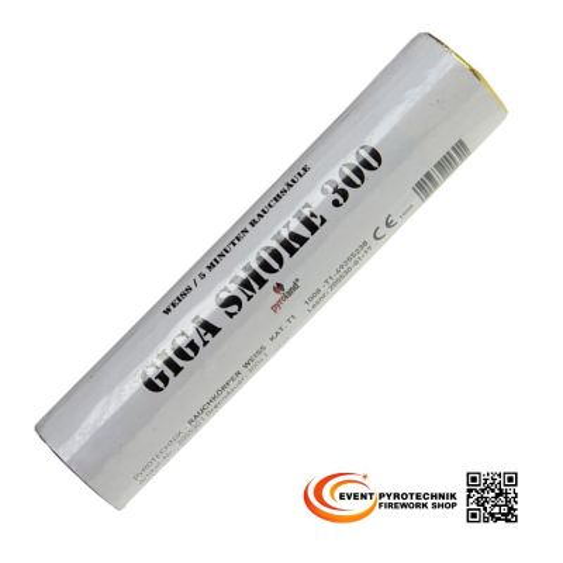 Giga Smoke Rauchtopf weiß T1 - 300 Sekunden