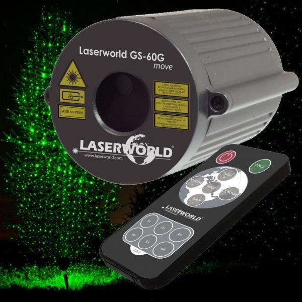 Gartenlaser Laserworld GS-60G move