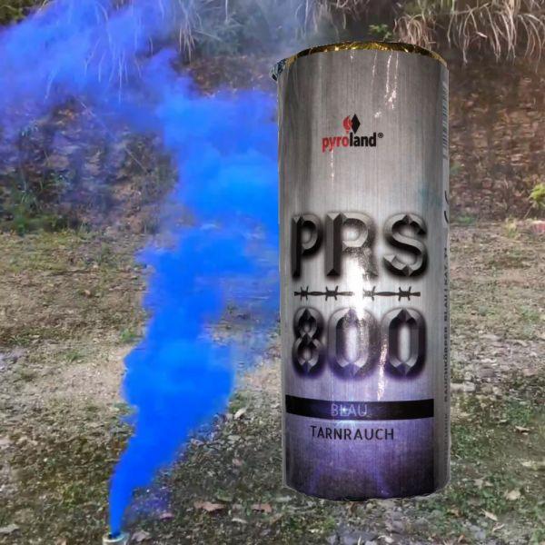 PRS800 Tarnrauch Mega Rauchtopf mit Reißzünder 45s, Blau - T1