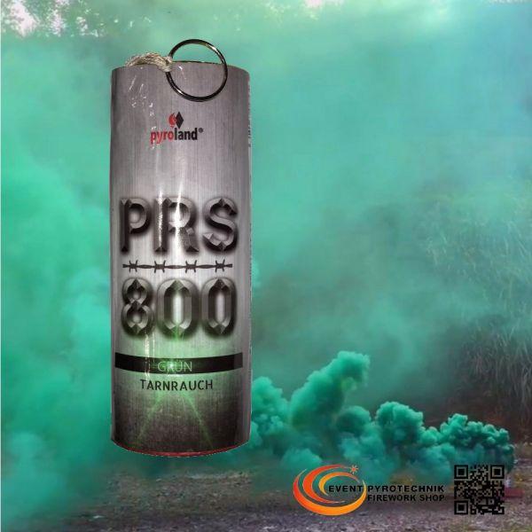 PRS800 Tarnrauch Mega Rauchtopf mit Reißzünder 45s, Grün - T1