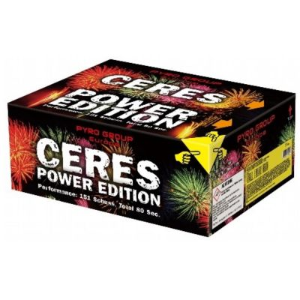 PGE 350 Ceres Power Edition Verbundfeuerwerk ca. 85 sec.