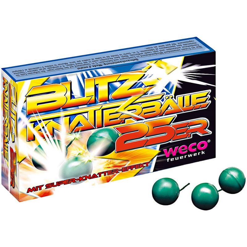 Weco Blitz Knatterbälle 25 Stück - F1