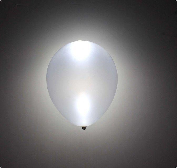 led luftballons wei 5 st ck firework shop. Black Bedroom Furniture Sets. Home Design Ideas