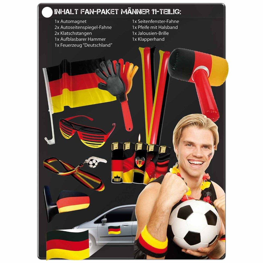 fan set fu ball wm em olympia deutschland m nner. Black Bedroom Furniture Sets. Home Design Ideas