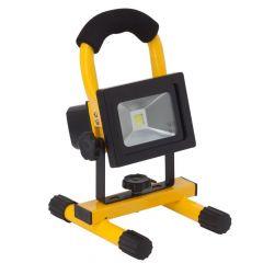 10W LED Strahler mit Akku und Ladegeräte