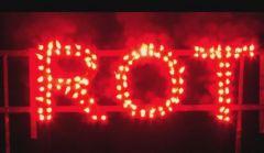 NICO Europe Lichterlanzen Figurenlichter ROT T1 NC Raucharm 60 sec. 800 Stück