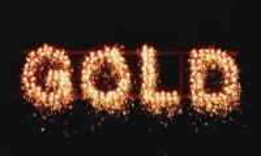 Blackboxx Fireworks Lichterlanzen Figurenlichter GOLD T1 NC Raucharm 60 sec. 25 Stück