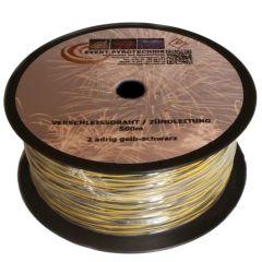 500m Verschleissdraht Pyrokabel 2-adrig 0,50mm