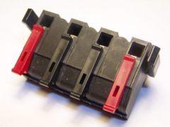 EXCITER Zündanlage Ersatz Klemmblock 4 Polig - 10 Stück