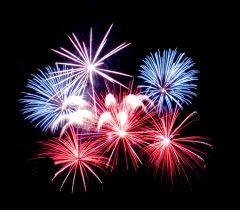 Feuerwerk kaufen -  Großfeuerwerk Höhenfeuerwerk für Stadtfest Gemeindefest