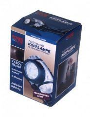 7 LED Kopflampe Stirnlampe Power-Line