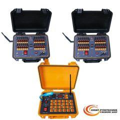 Funkzündanlage 48 Kanäle im Koffer DBR02-X24-48
