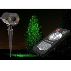 Laserworld Gartenlaser GS-200RG move mit Fernbedienung