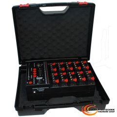 Kunststoff Koffer TEKNO JAZZ 5007 mit Schaumeinlagen