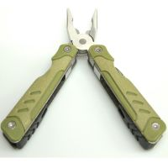 Multi Tool Kombitool Oliv 7 Werkzeuge
