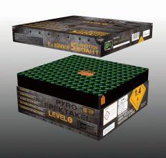 Blackboxx Pyro-Spektakel Level 5 - 5 min - 165 Schuss Verbundfeuerwerk