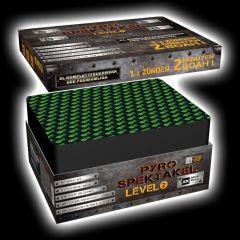 Pyro Spektakel Level 2 Verbundfeuerwerk 127 Schuss