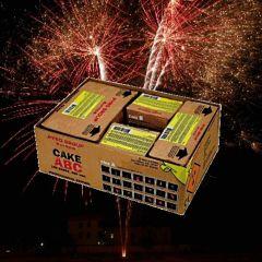 Feuerwerk kaufen -  PGE304 Cake ABC Komplettfeuerwerk ca. 150 sec.