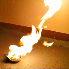 Pyrochips NC Chips gelb brennend 100g