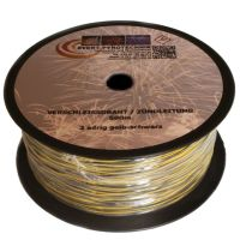 500m Matrix Verschleissdraht Pyrokabel 2-adrig 0,45mm