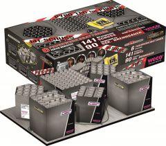 Weco Pyro Tec für Profis 141 - 90 sek. Verbundfeuerwerk