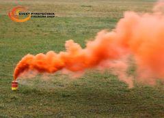 Seenot Rauchtopf Orange mit Abreißzünder P1