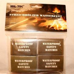 Streichhölzer Wasserfest 4 Pack/Blister