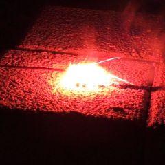 Zündschnur Visco Rot langsam brennend ca. 325 s/m