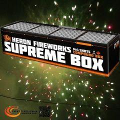 Verbundfeuerwerk Heron SUPREME (Professional Powerbox 3), 144 Schuss - ca. 100 sec.