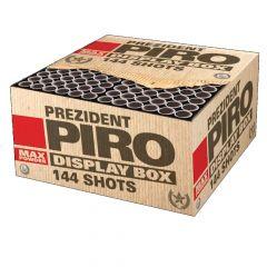 Verbundfeuerwerk Lesli Prezident Piro 144 Schuss MEGA Displaybox